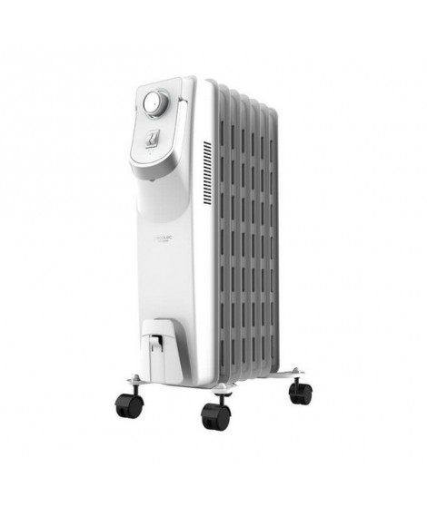 Radiateur à Huile (7 modules) Cecotec Ready Warm 5750 Space 360º 1500W Blanc