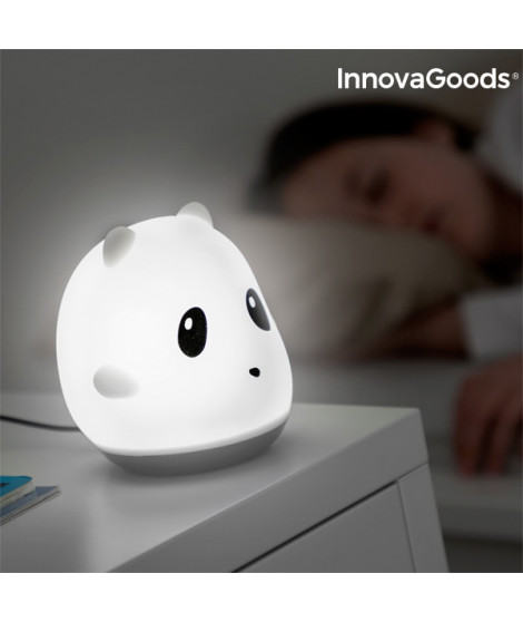 Lampe Tactile Rechargeable en Silicone Panda InnovaGoods