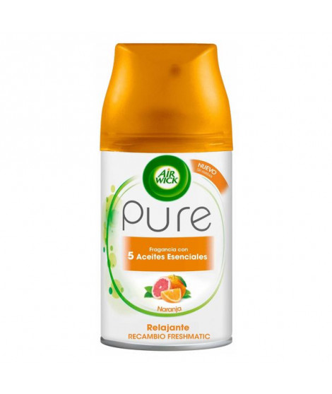 Recharge pour Diffuseur Air Wick FreshMatic Pure Relaxant Orange 250 ml