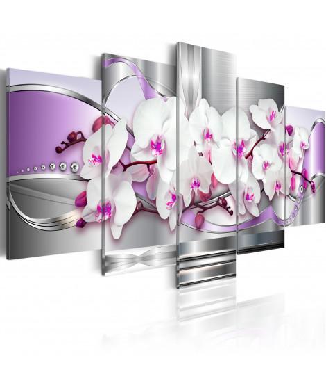Tableau - Orchidée et fantaisie
