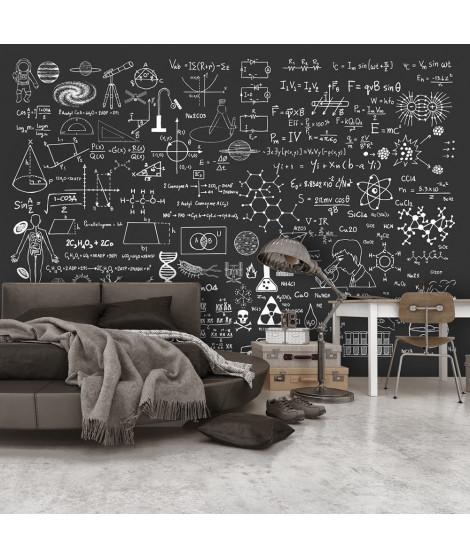 Papier peint - Science on Chalkboard