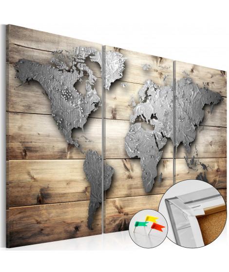 Tableau en liège - Doors to the World [Cork Map]
