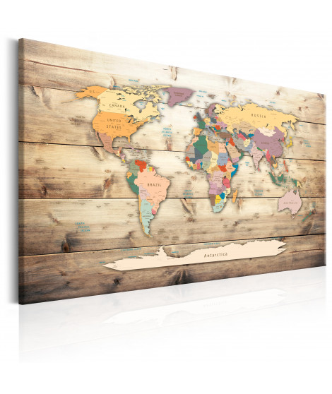Tableau - World Map: Colourful Continents