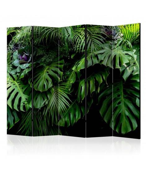 Paravent 5 volets - Rainforest II [Room Dividers]