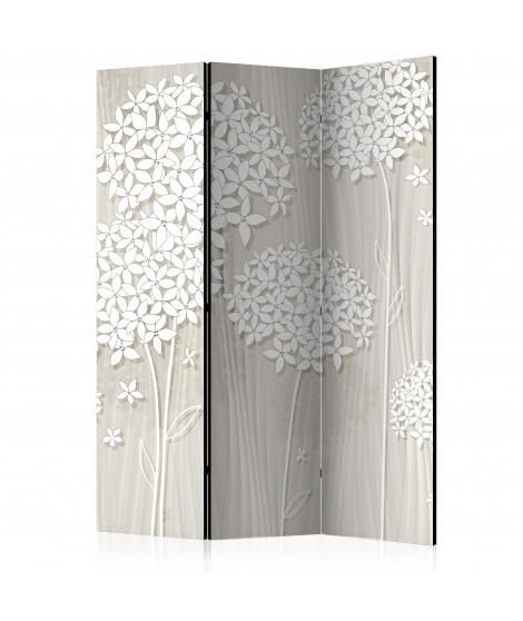Paravent 3 volets - Paper Dandelions [Room Dividers]