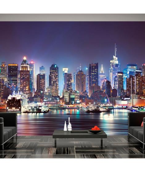 Papier peint - Night in New York City