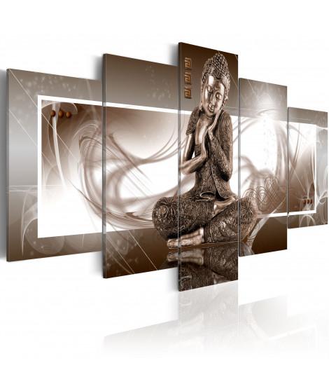 Tableau - Bouddha méditant