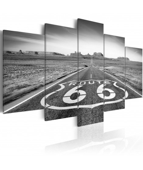 Tableau - Route 66 - black and white