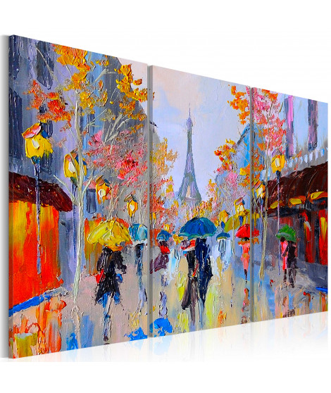 Tableau - Rainy Paris
