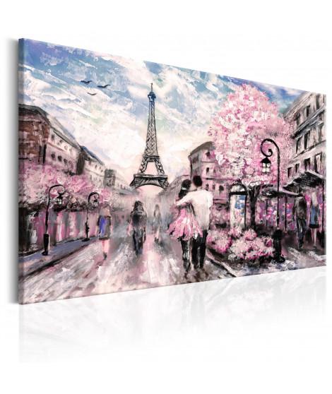 Tableau - Paris en rose