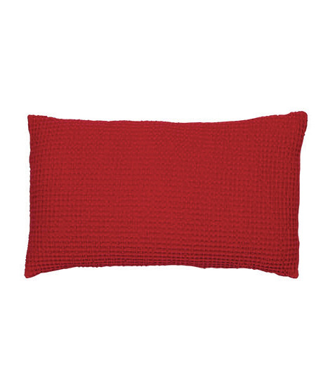 Coussin Maia Rouge Rubis 30 X 50