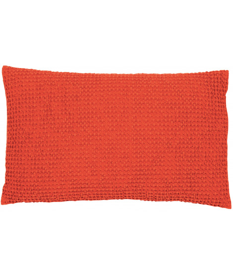 Coussin STONEWASHED MAIA CITROUILLE 30 X 50