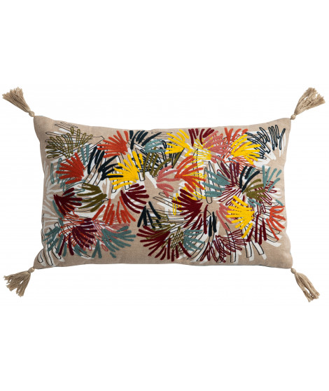 Coussin anime Elise Campa Multicolore 30 x 50