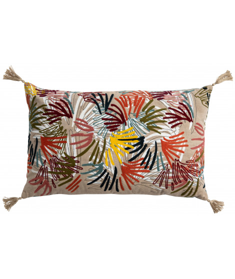 Coussin anime Elise Campa Multicolore 40 x 65