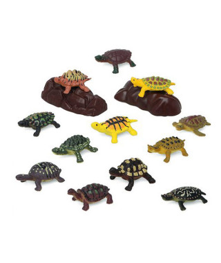 Set Animaux Sauvages 110203 Tortue (14 Pcs)