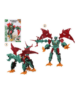 Super Robot Transformable Deformation Warrior Vert 113341