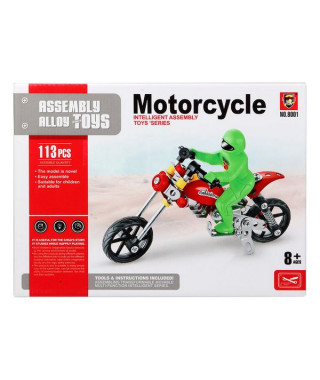 Set de construction Motocyclette 117585 (113 Pcs)