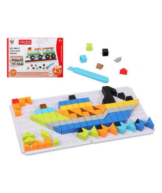 Puzzle Diy Traffic 6 In 1 118025 (248 pcs)