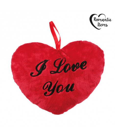Coeur Peluche I Love You 10 cm