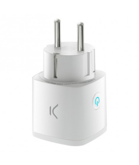 Prise Intelligente Smart Energy Mini WIFI 250V Blanc