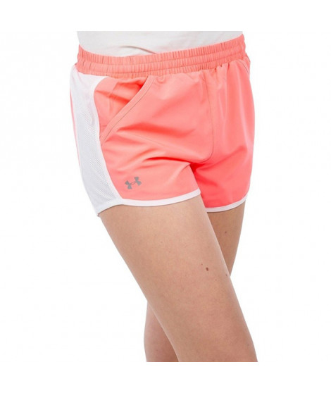 Short de Sport pour Femme Under Armour 1297125 Corail