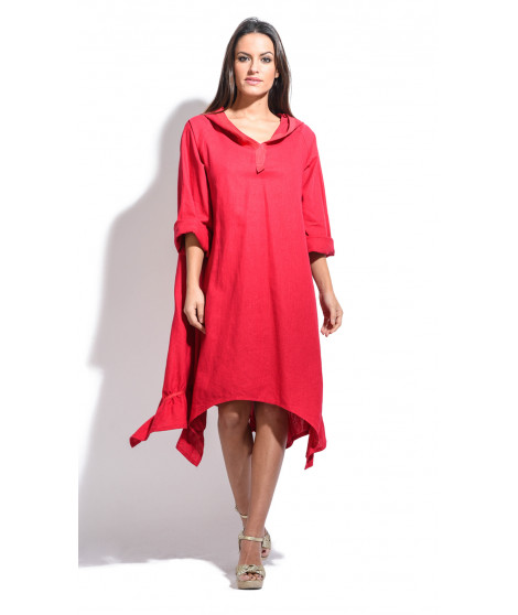 Robe LARA Rouge