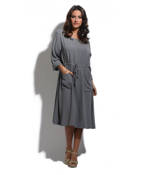 Robe CAGGY Gris