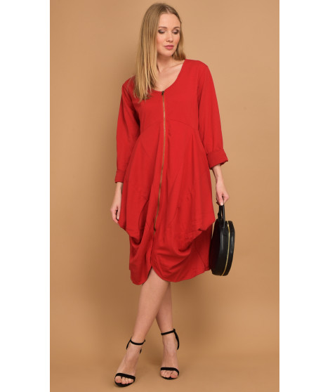 Robe FRIDA Rouge