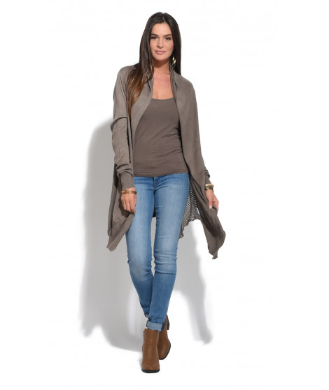 Gilet DONNA Taupe