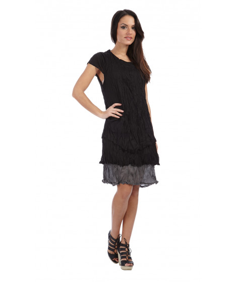 Robe JULIANA Noir / Gris