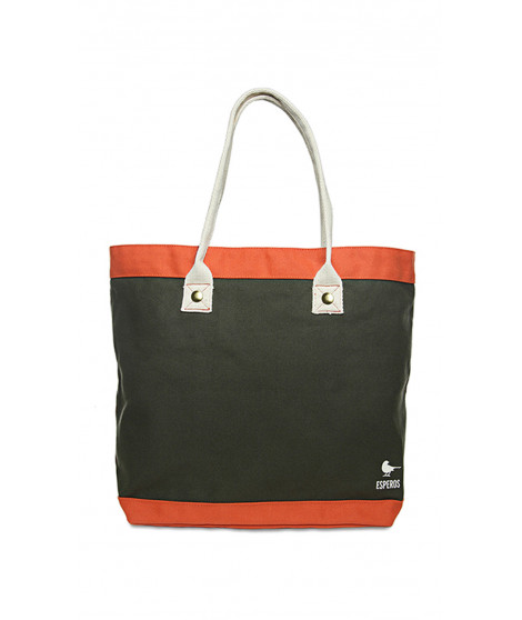 Sac JANE Kaki / Orange