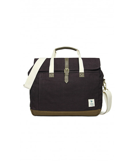 Sac d'ordinateur KIARA Violine / Marron