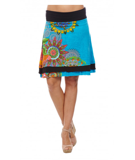 Jupe BRITANY Turquoise