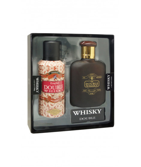 Coffret de parfum DOUBLE WHISKY Rouge