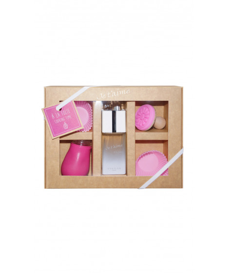 Coffret de parfum JE T'AIME A LA FOLIE Coffret Cooking Time Rose