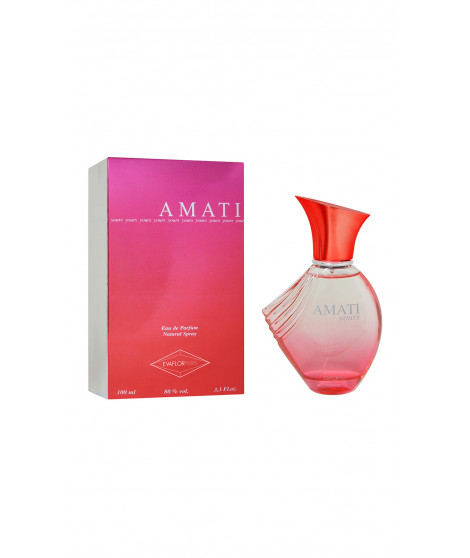 Eau de toilette AMATI YOURS Rouge