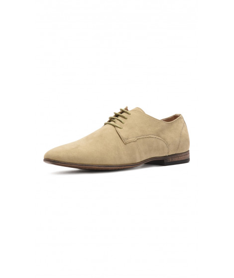 Derbies à Bouts pointus LIAM Beige