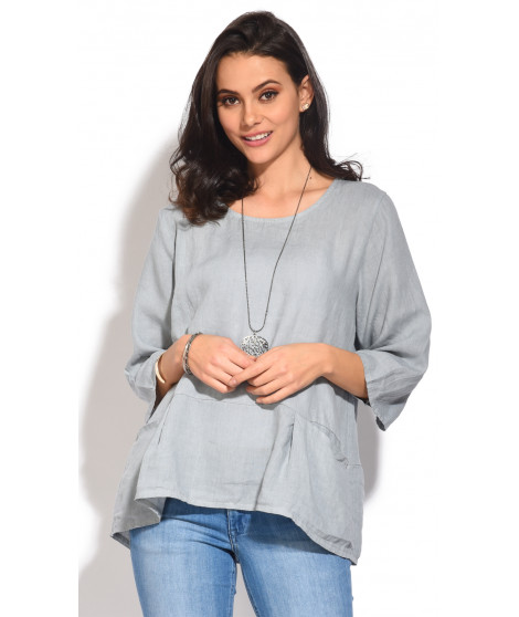 Top ANDY Gris taupe