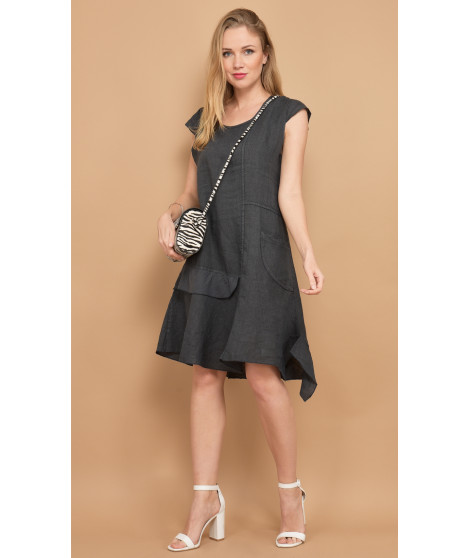 Robe MARGUERITE Anthracite
