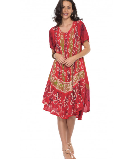 Robe PAOLA2 Rouge