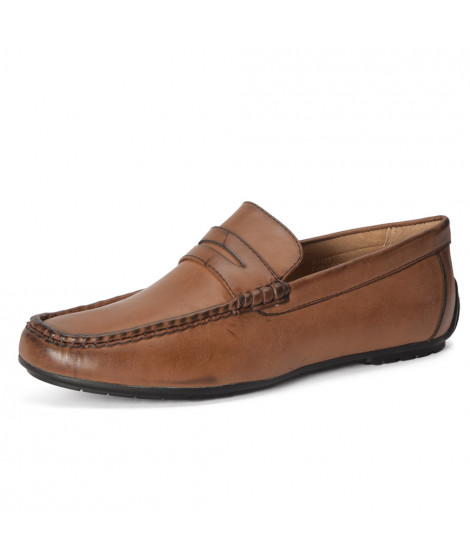 Mocassins à enfiler M3723-G JARDEL Marron Marron