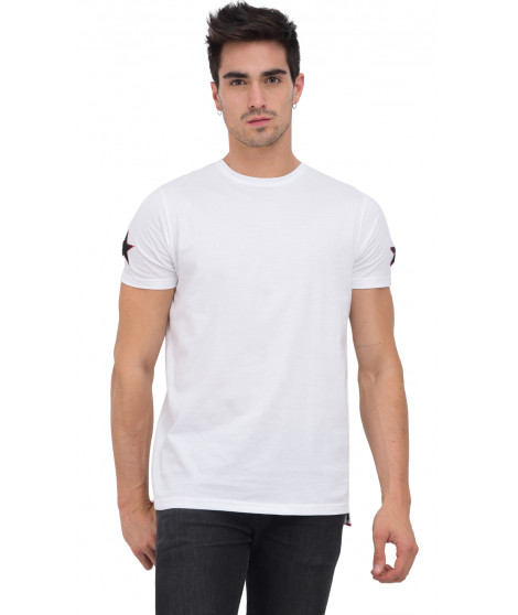 T-shirt col rond manches courtes MIRANIL WHITE Blanc