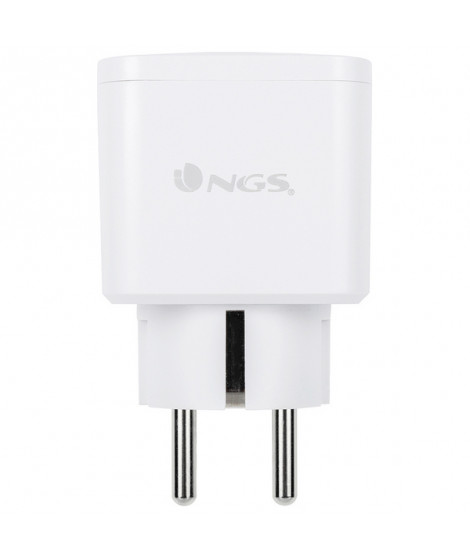 Prise Intelligente NGS Plug Loop WiFi 3680W Blanc