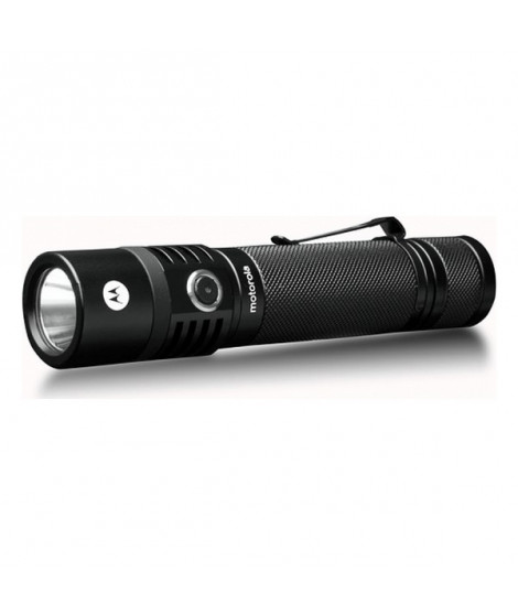 Lampe Torche LED Motorola MR-550 Noir