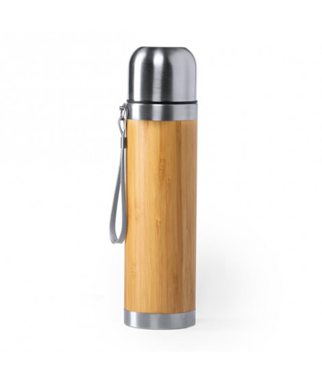 Thermos 420 ml Bambou Acier inoxydable 146603