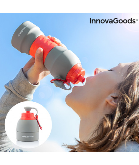 Bouteille en Silicone Pliable InnovaGoods