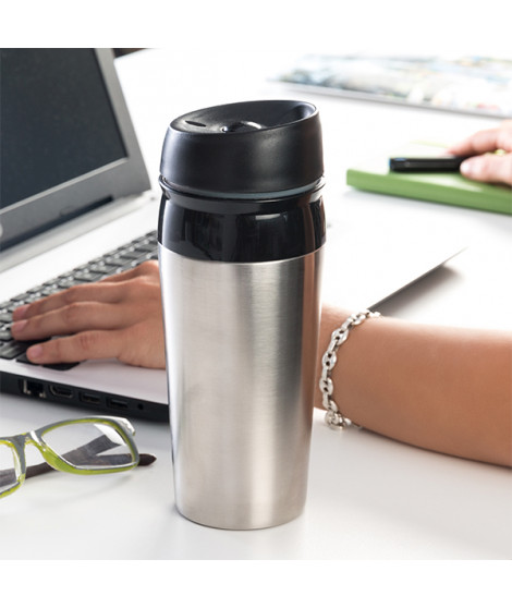 Tasse Thermos avec Couvercle Coffee