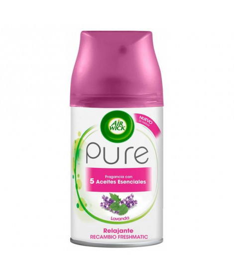 Recharge pour Diffuseur Air Wick FreshMatic Pure Relaxant Lavande 250 ml