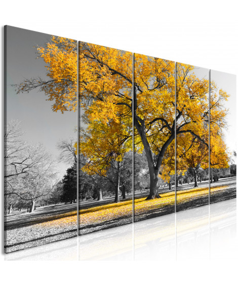 Tableau - Autumn in the Park (5 Parts) Narrow Gold