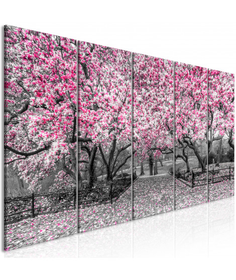 Tableau - Magnolia Park (5 Parts) Narrow Pink